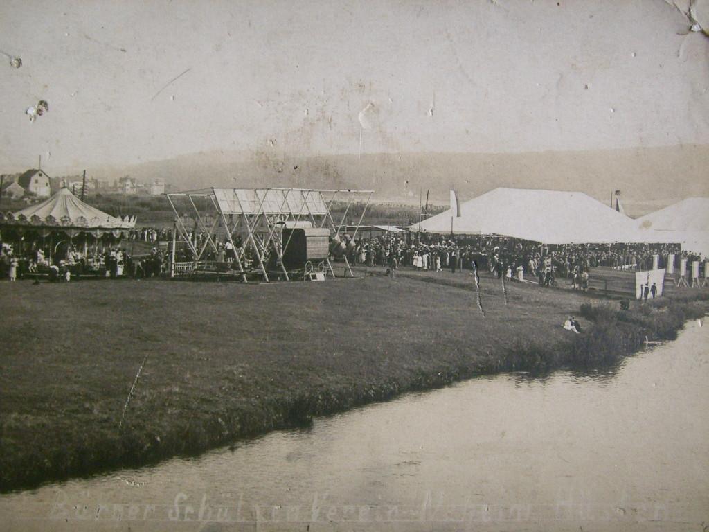 Schützenfest an der Möhne um 1900