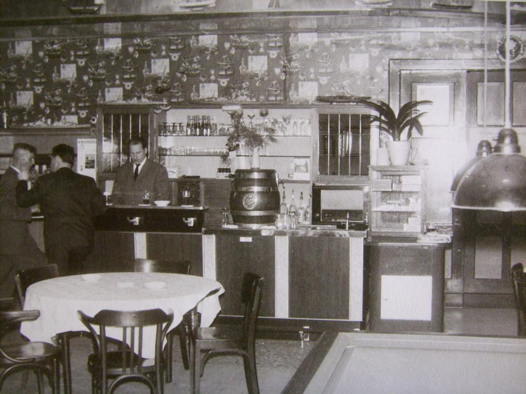 Innenansicht um 1950