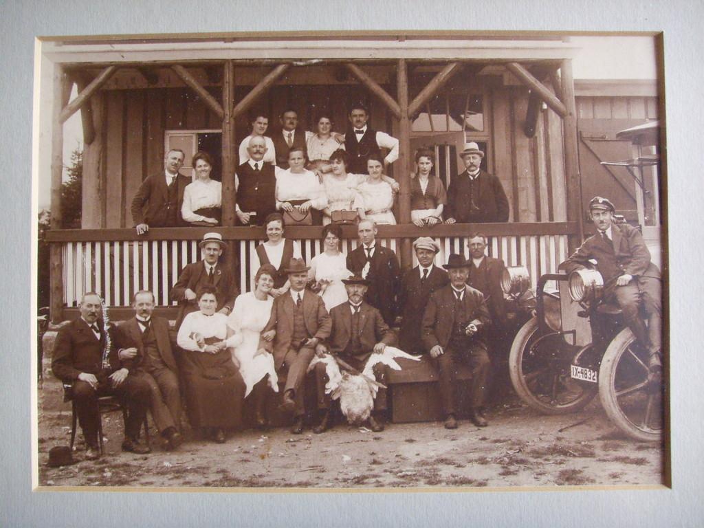 Wirteverein Neheim um 1900