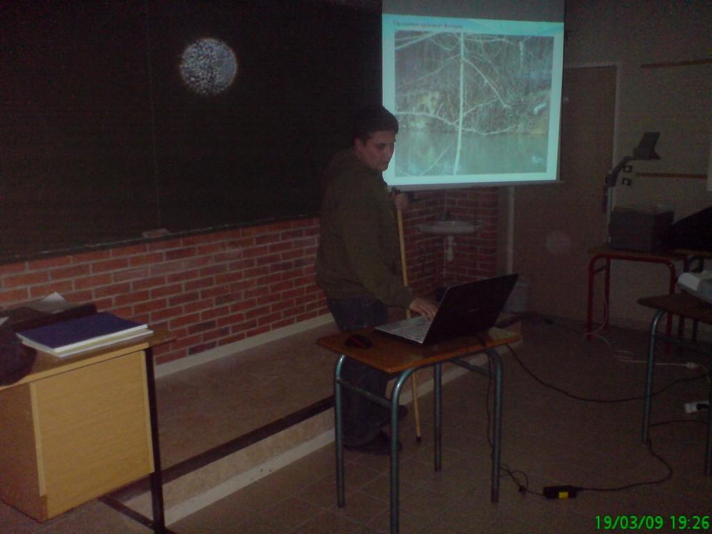 comité scientifique présentation de l'étude sur le Melda et ru du Beauregard