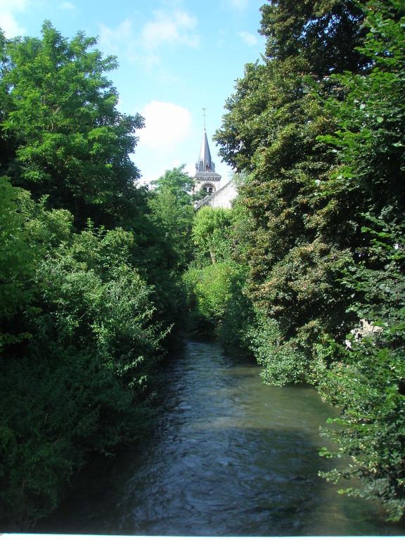 rivière du Temple dérivation de la Seine