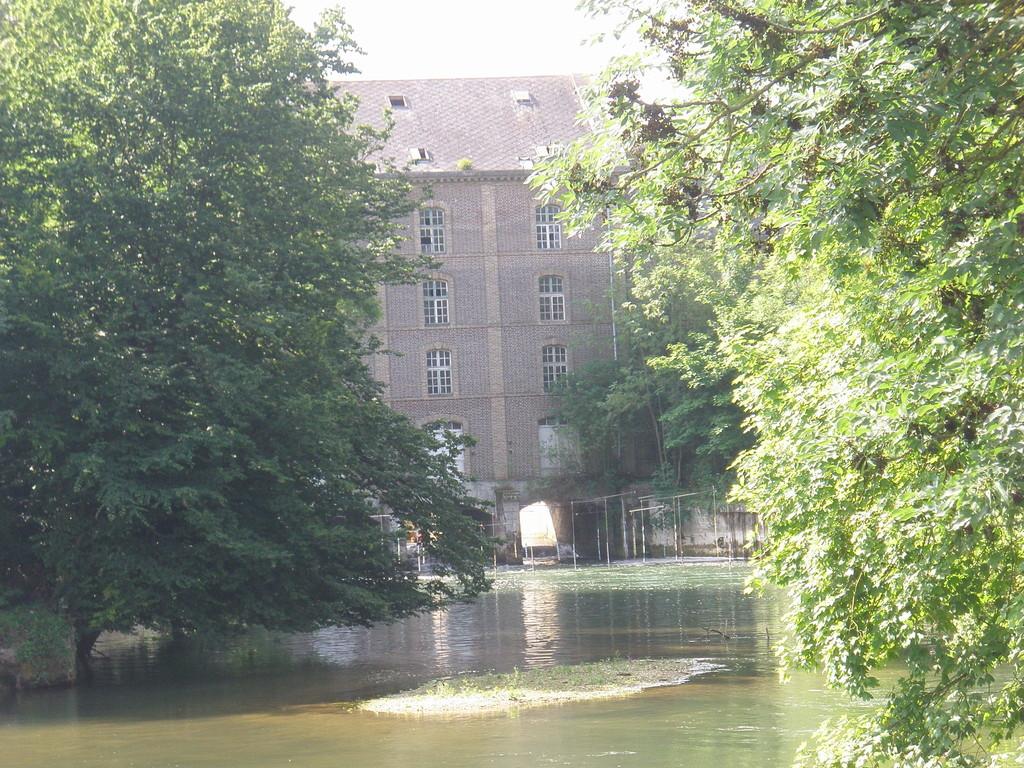 Seine moulin Notre Dame