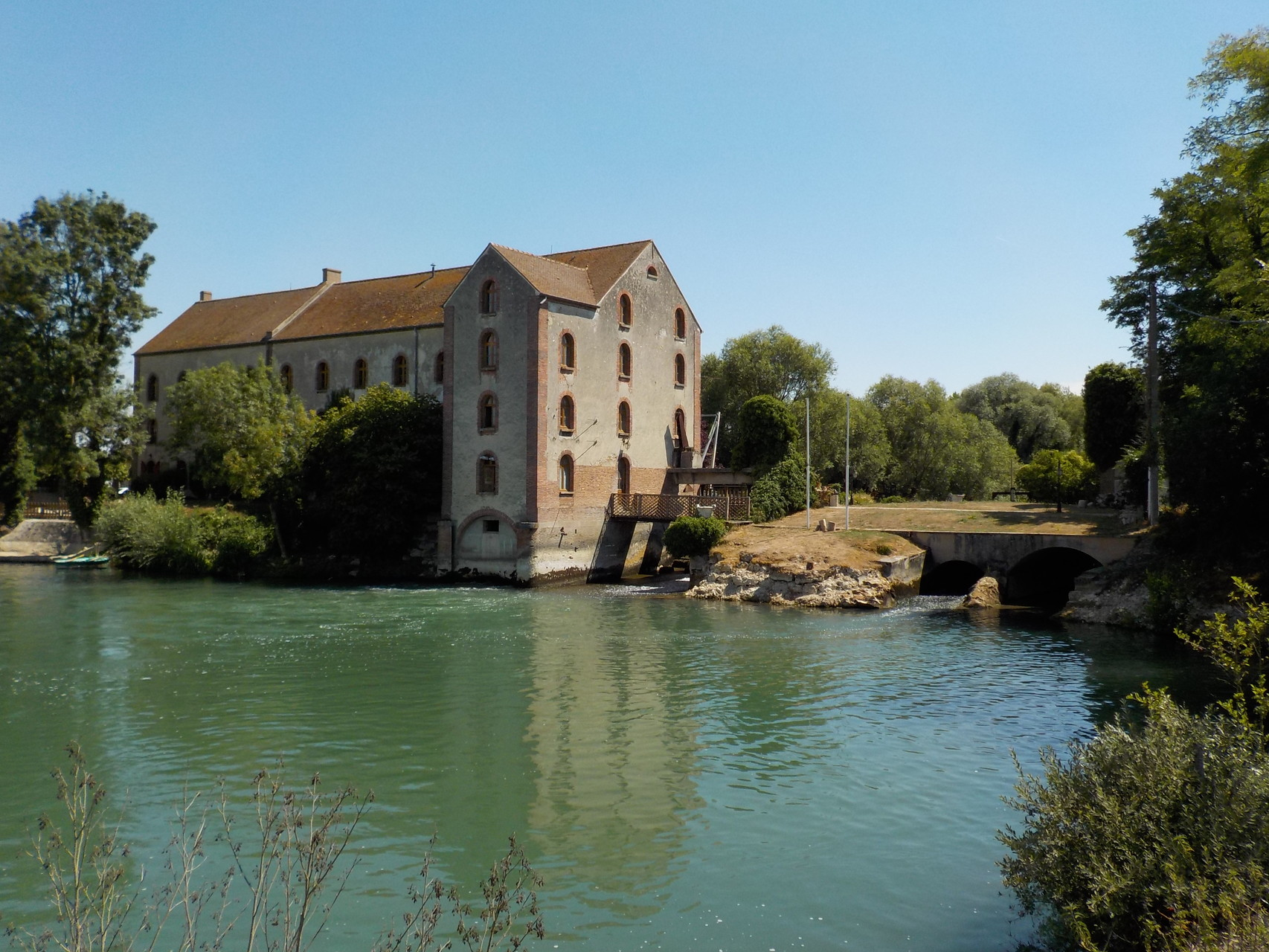 Moulin de Sauvage sur la Seine