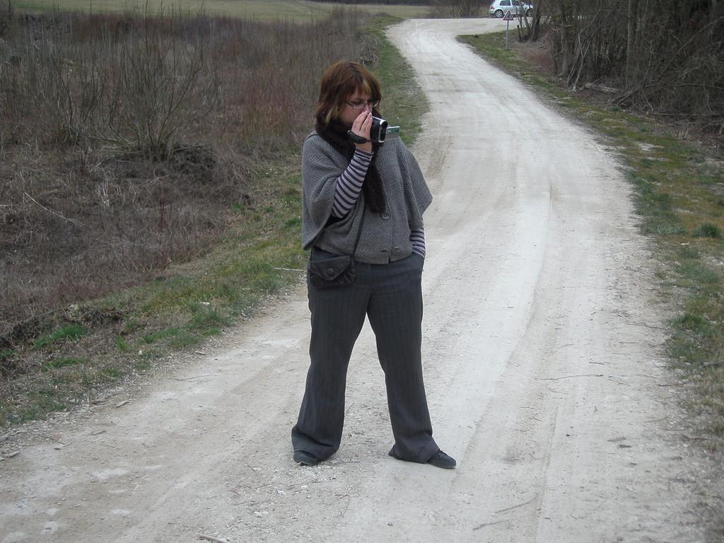Alexandra Trubat est sa caméra