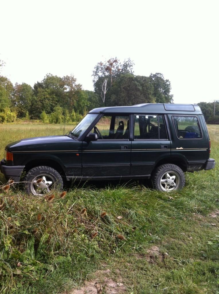 Notre Land Rover pour nos interventions le long des cours d'eau