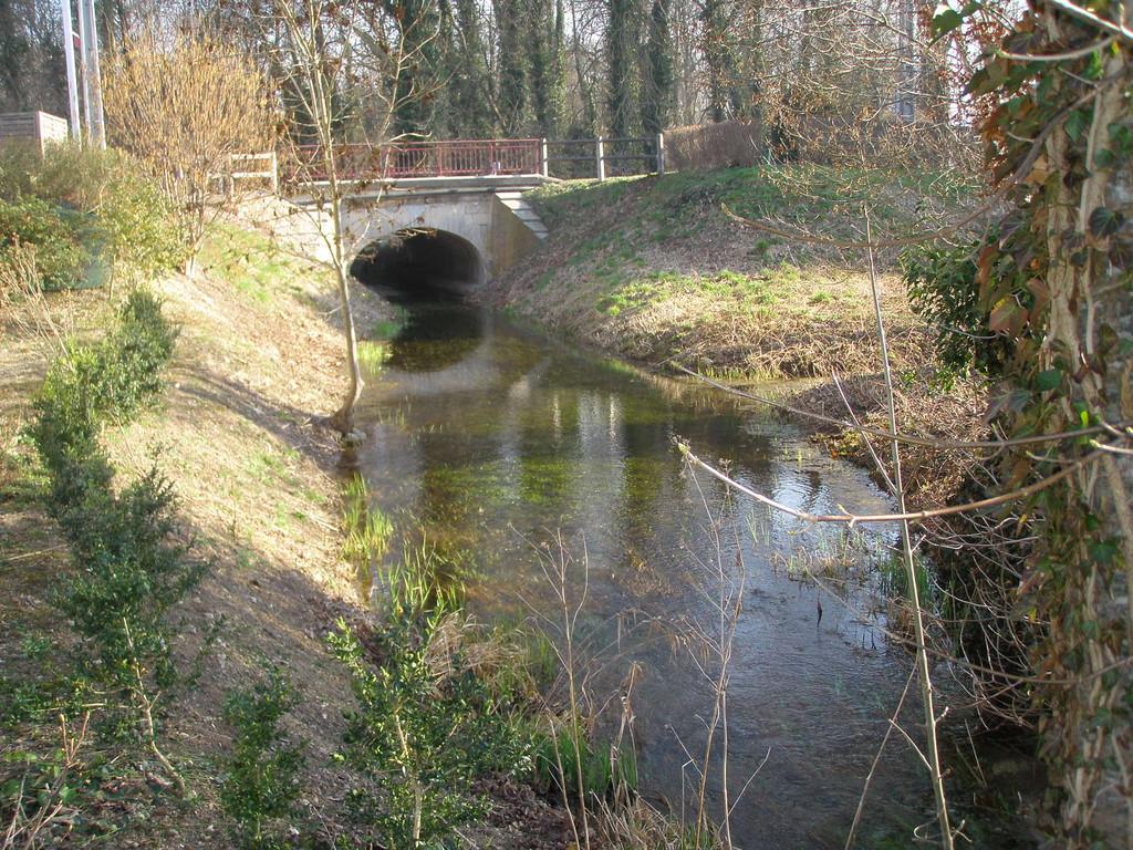 vue de l'amont du pont