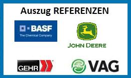 Auszug Referenzen AEO & bV SchulungsCenter der Bouché Air & Sea GmbH
