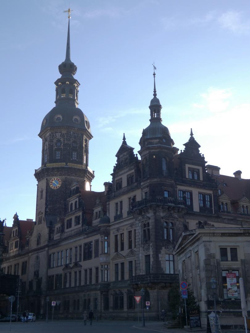 Dresden zum Jahreswechsel 2020