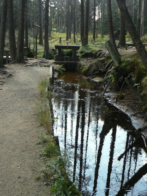 Teil des Oberharzer Wasserregals
