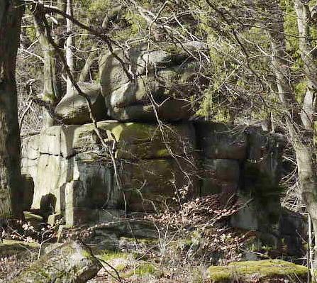 Wollsackverwitterung von Granit
