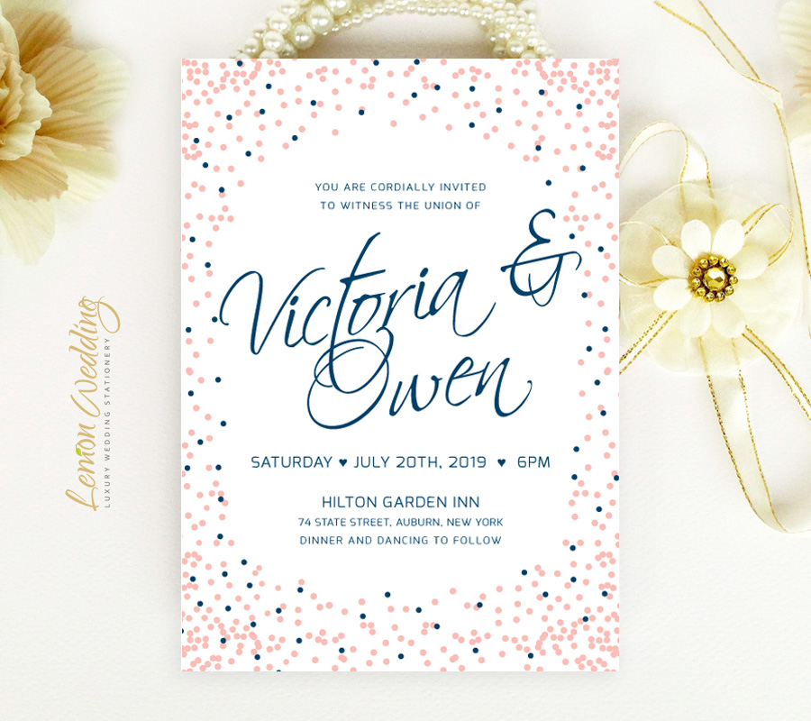 Modern Wedding Invite Wording: Modern Wedding Invitations