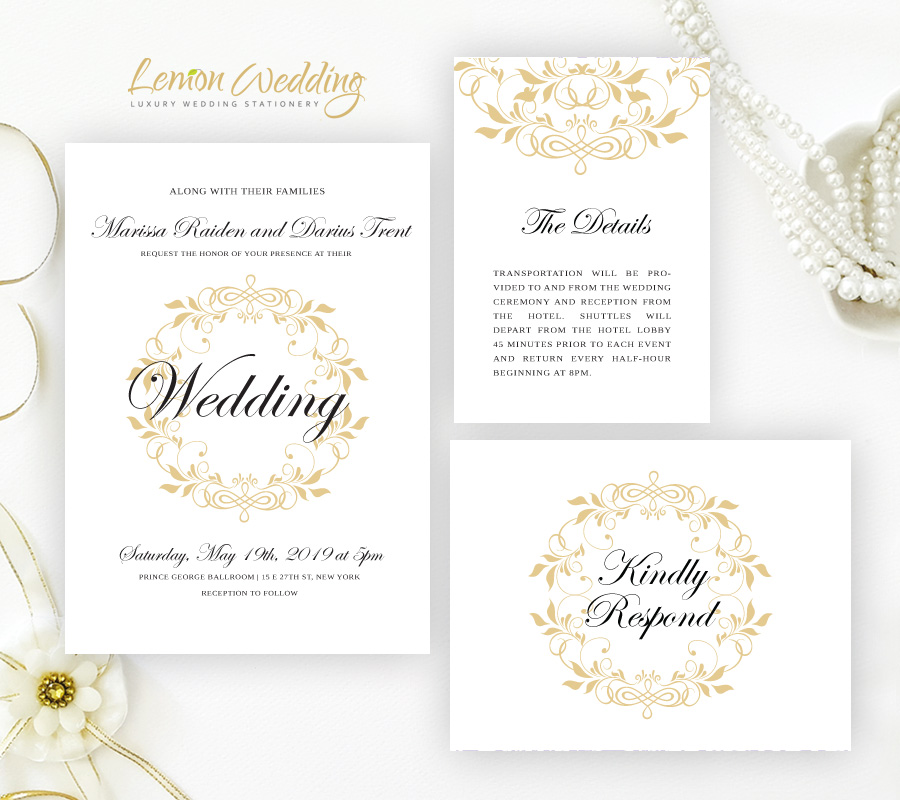 Affordable wedding invitation packs lemonwedding order now filmwisefo
