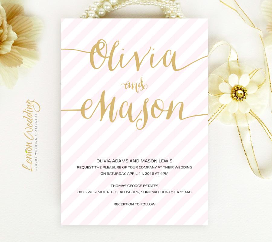 Wedding invitations and stationery LemonWedding
