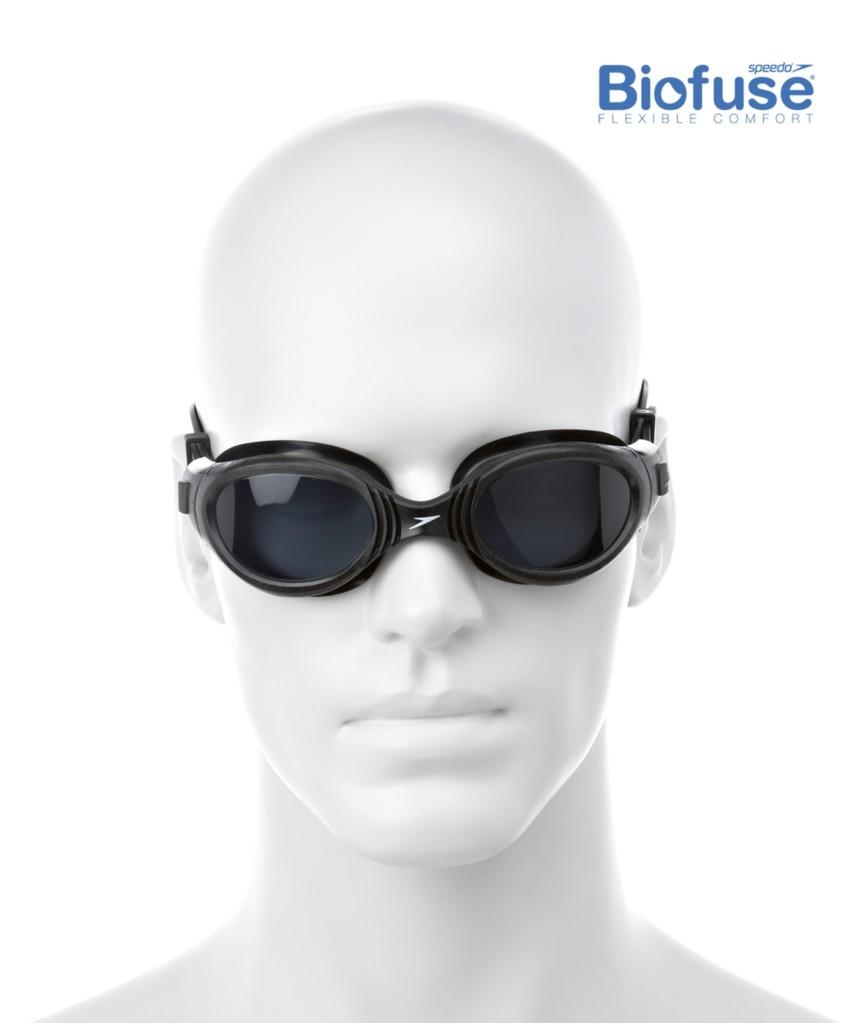 ba91d31591b51 Schwimmbrille Futura Biofuse Black - Speedo kaufen bei SwimDeluxe