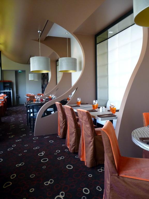 Terranova, restaurant du Casino de Granville, housse de chaise