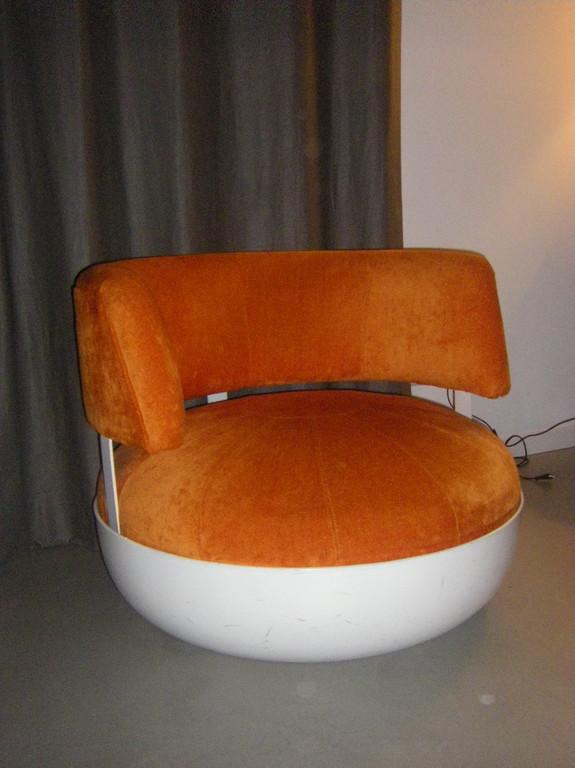 prototype de 1971, fauteuil Mandarine