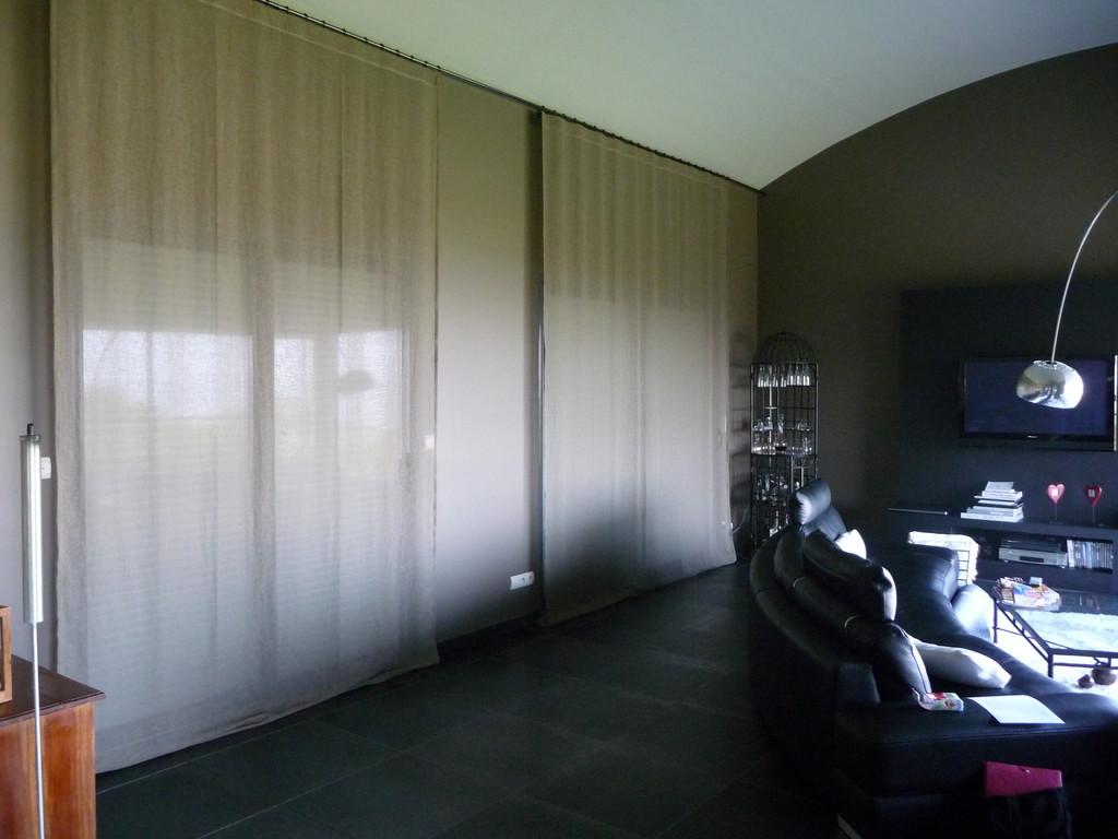 rideaux en lin légers
