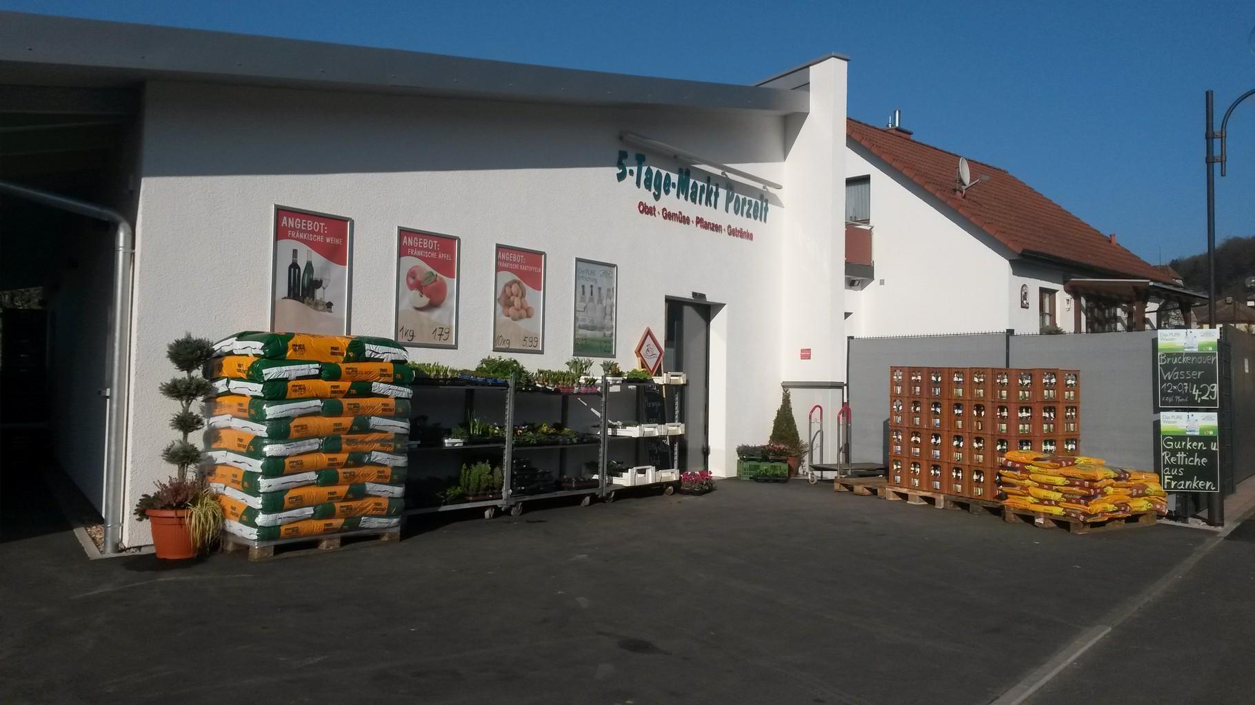5-Tage-Markt Porzelt