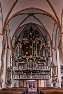 Bach-Böhm-Orgel (Foto: Joachim Quast, Lizenz: St. Johannis)