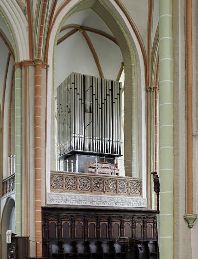 Symphonische Chororgel (Foto: Jochen Stüber, Lizenz: St. Johannis)