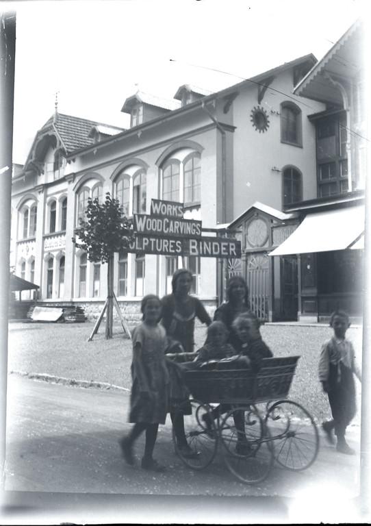 heute Jobin und Holzbidhauerei Museum