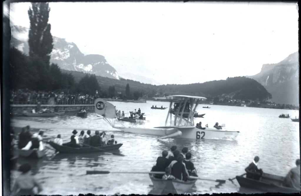 Wasserflugzeug zu Besuch