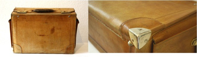 Kofferreparatur, Kofferrestauration, Reparatur Arztkoffer, Reparatur Leder, Büffelleder