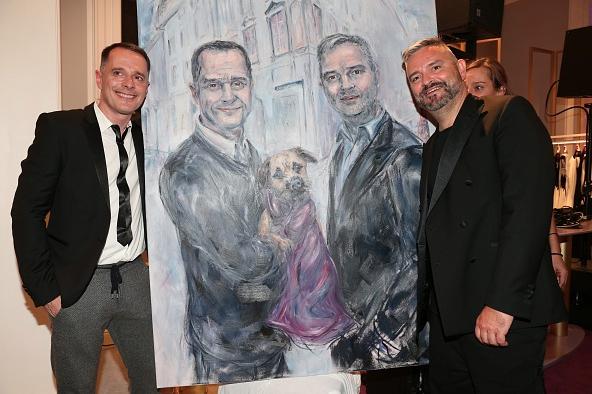 Johnny Talbot & Adrian Runhof mit Portrait