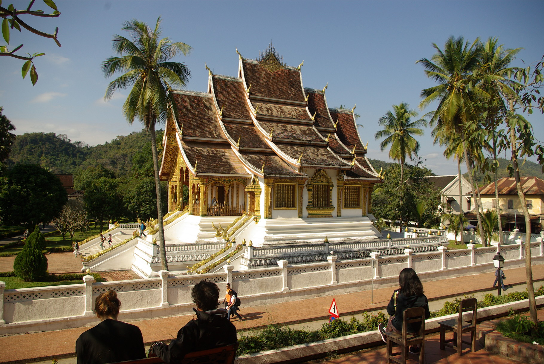 Tempel neben dem Königspalast.