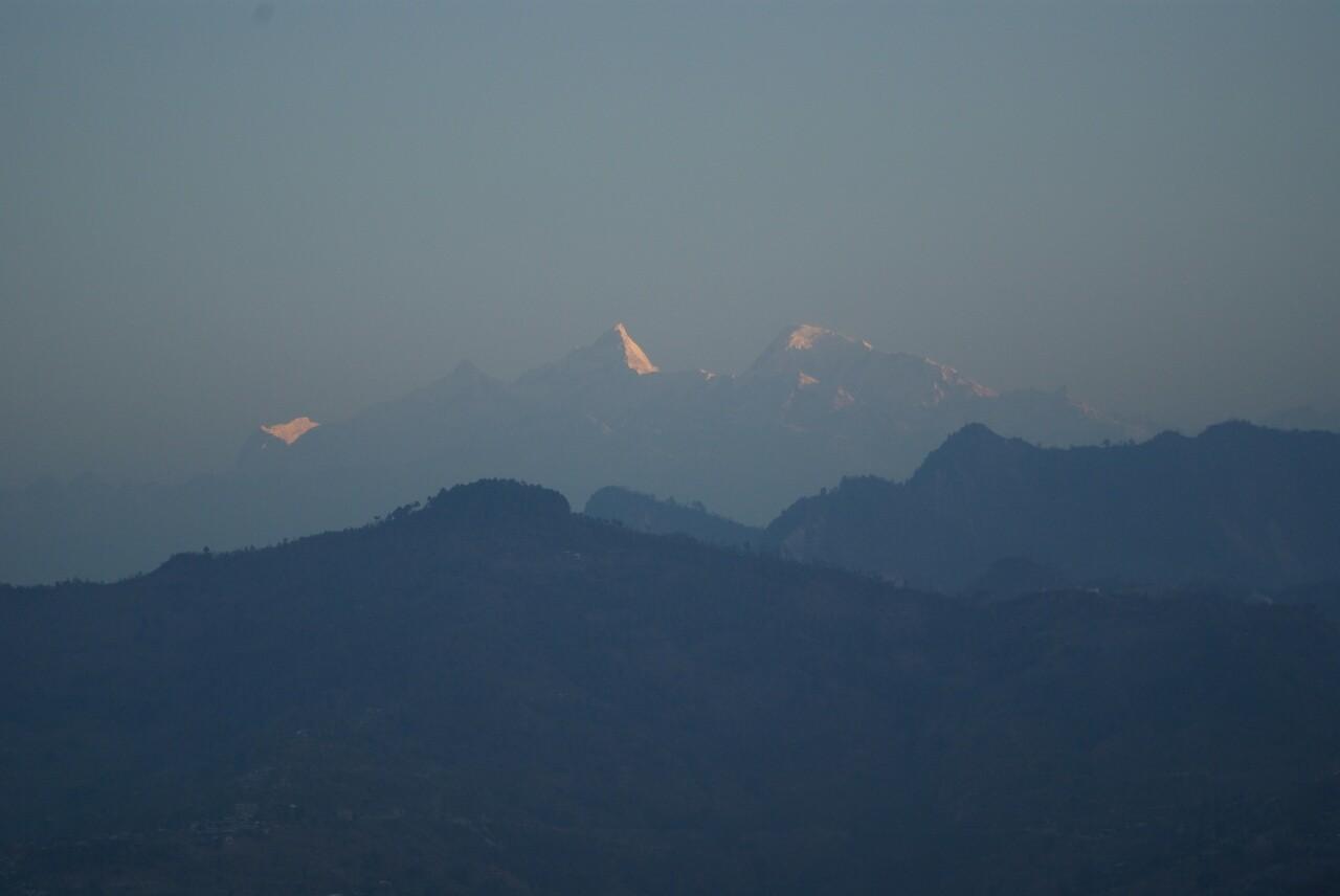 Blick auf Manaslu