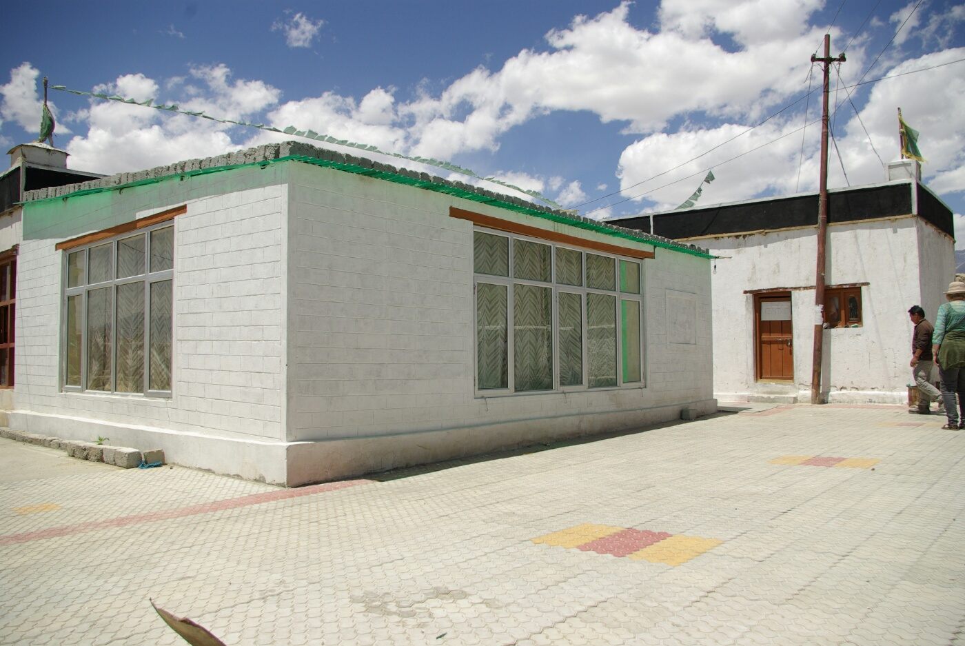 Choglamsar: Eine der Community Halls ...