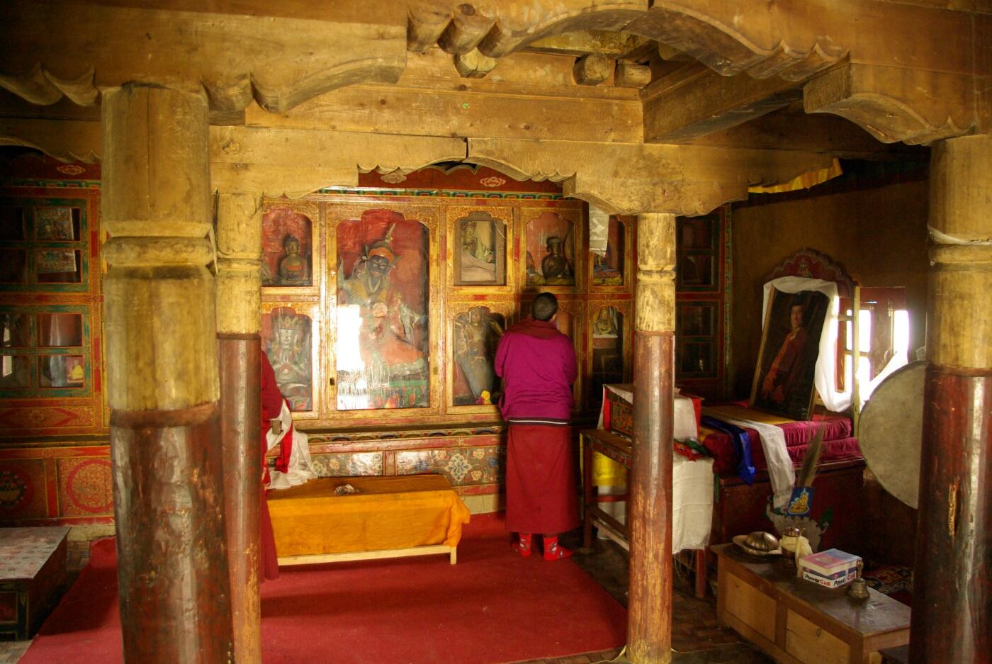 Phokar, Padmasambhava: Innenansicht