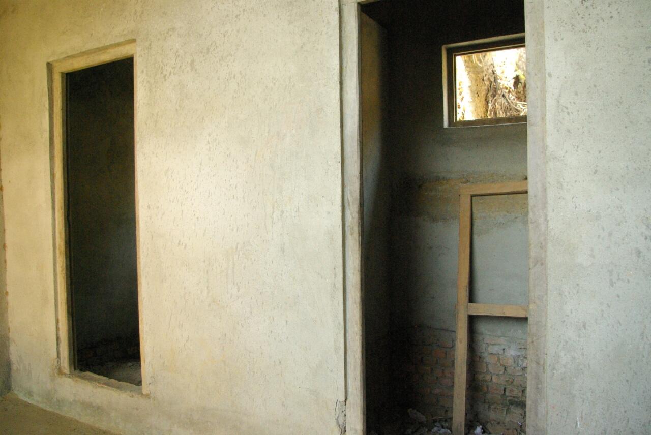 Hier im Treppenhaus sollen neue gebaut werden - wenn Geld vorhanden ist.