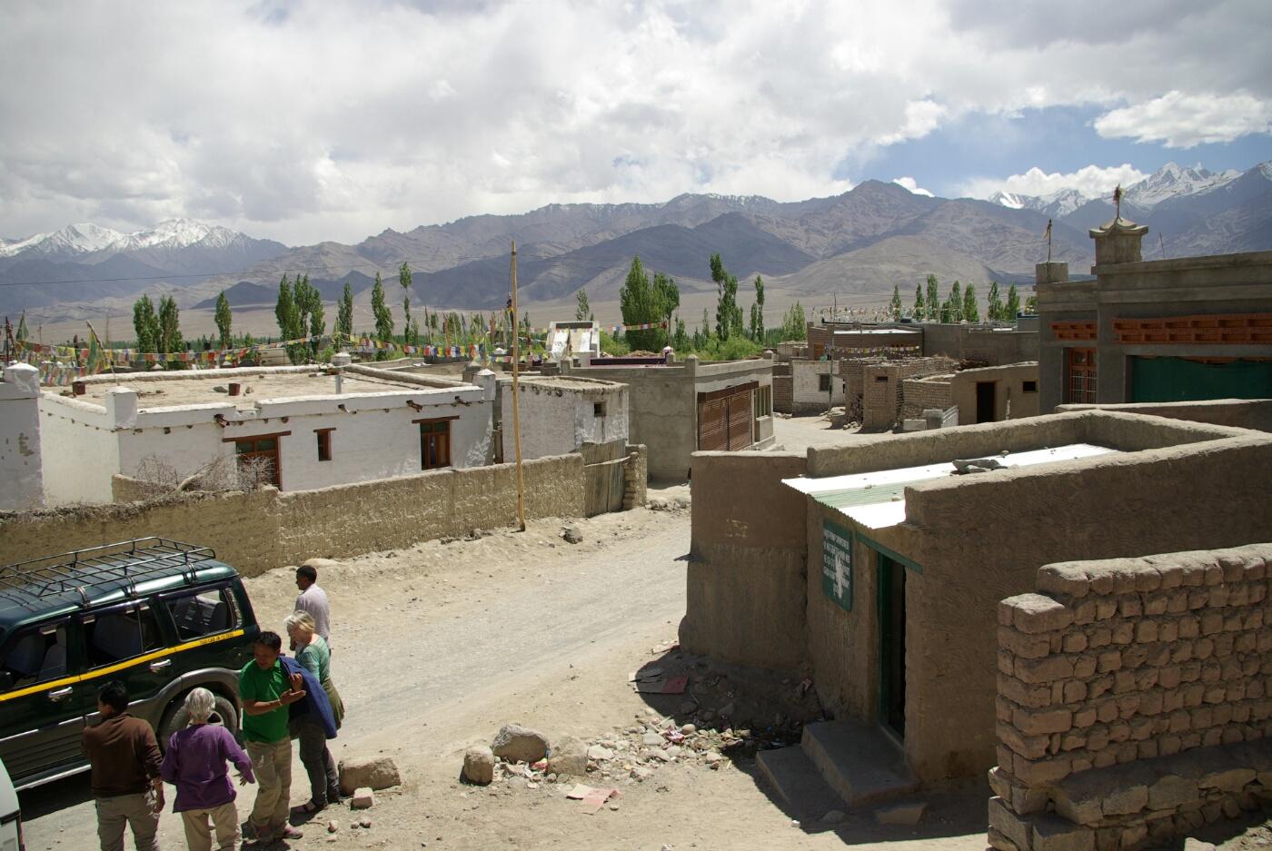 Choglamsar: In der Siedlung Choglamsar