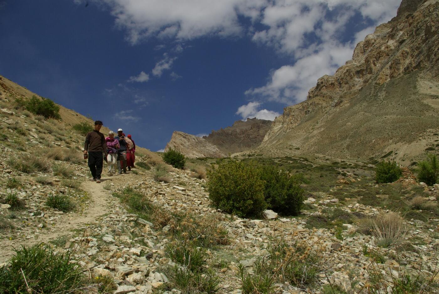 Phokar,Padmasambhava: Rückweg