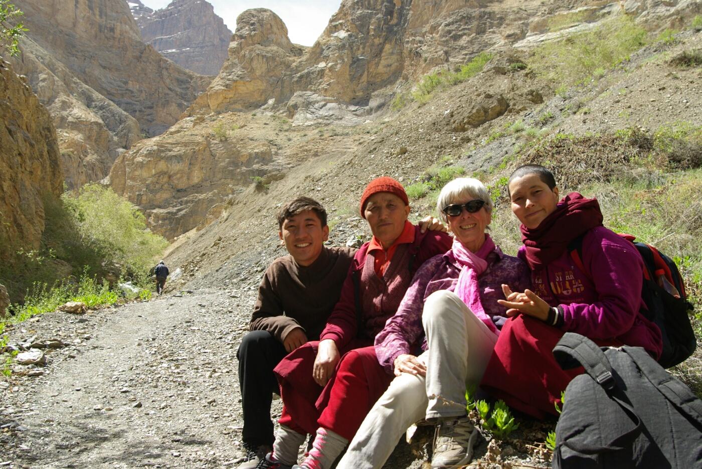 Phokar, Padmasambhava: Endlich wieder Sonnenschein