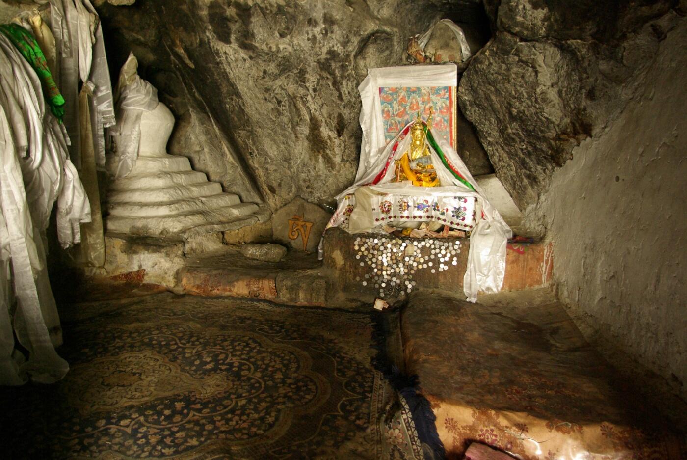 Phokar, Padmasambhava:  Die Meditationshöhle
