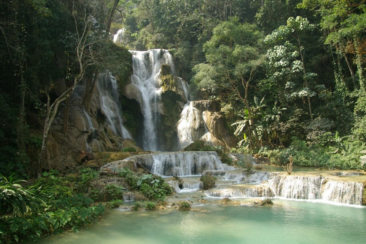 Ein schöner Wasserfall, doch die Idylle trügt