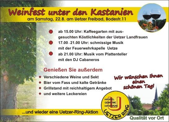 Uetzer Ring Weinfest 2015