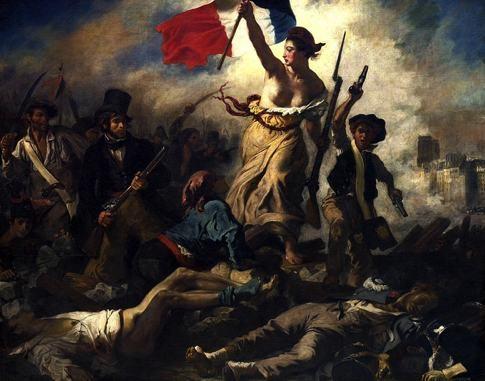 Französische Revolution 1789 - Einfache Bürger und Bauern erheben sich