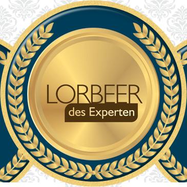 """Quality Award """"Lorbeer des Experten"""""""