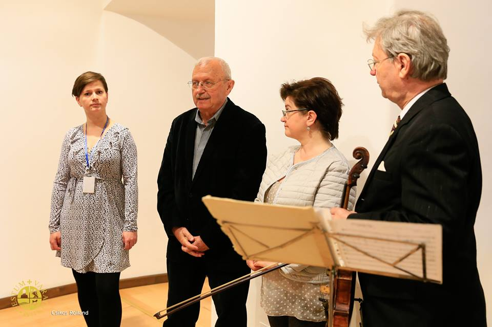 The opening of the 8th edition of ''Eurofotoart'' international salon