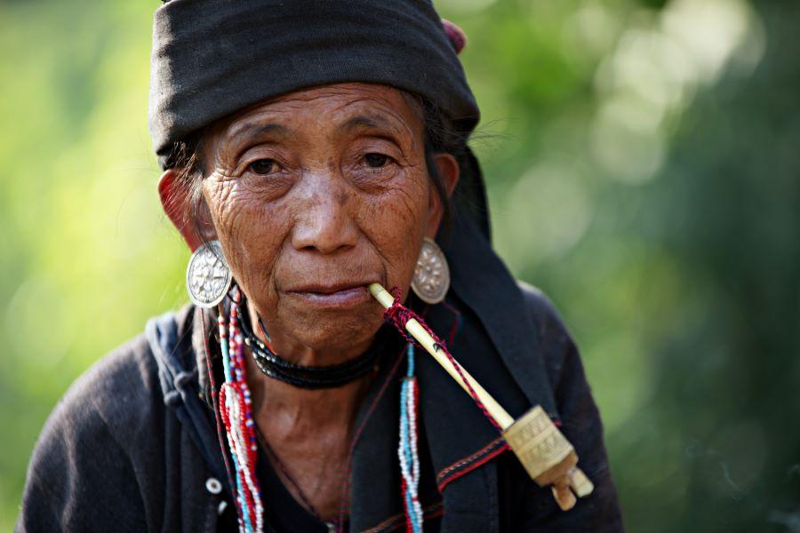 Magdelene Teo (Singapore) - Myanmar old lady