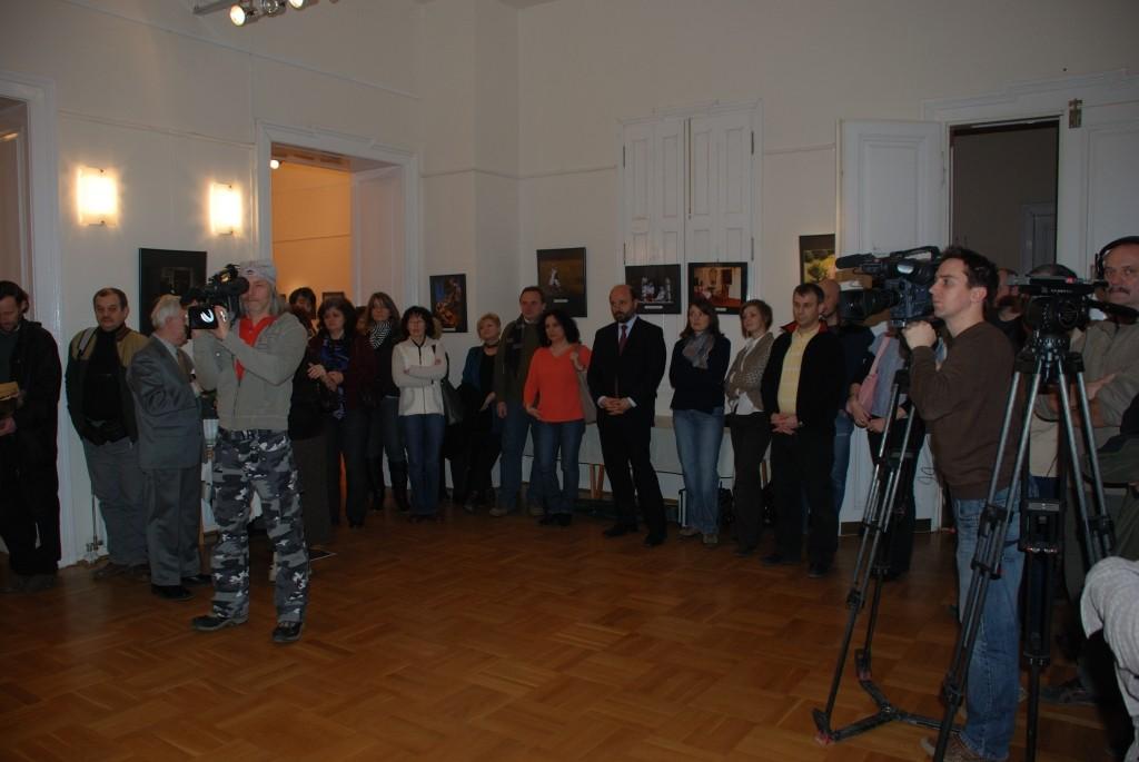 Vernisaj ICR Budapesta filiala Szeged 05.02.2011 -  Megnyitó a Budapesti Román Kultúrális Intézet Szegedi Fiókjában (2011.02.05)