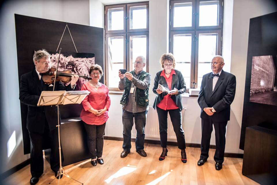 The opening of Vasile Dorolti's (Baia Mare - RO) personal exhibit