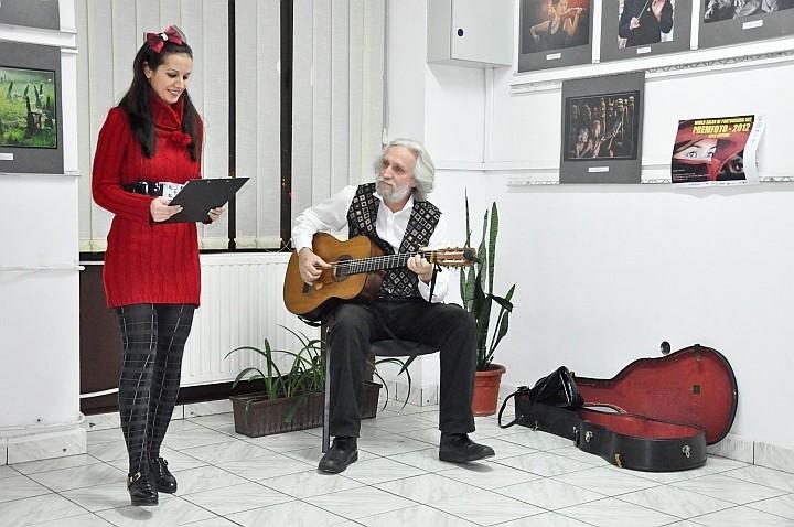 Momentele serii asigurate de artiştii Alexandrina şi Florian Chelu