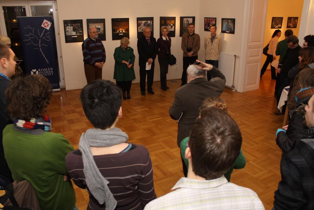 Vernisaj ICR Budapesta filiala Szeged 18.01.2012 -  Megnyitó a Budapesti Román Kultúrális Intézet Szegedi Fiókjában (2012.01.18)