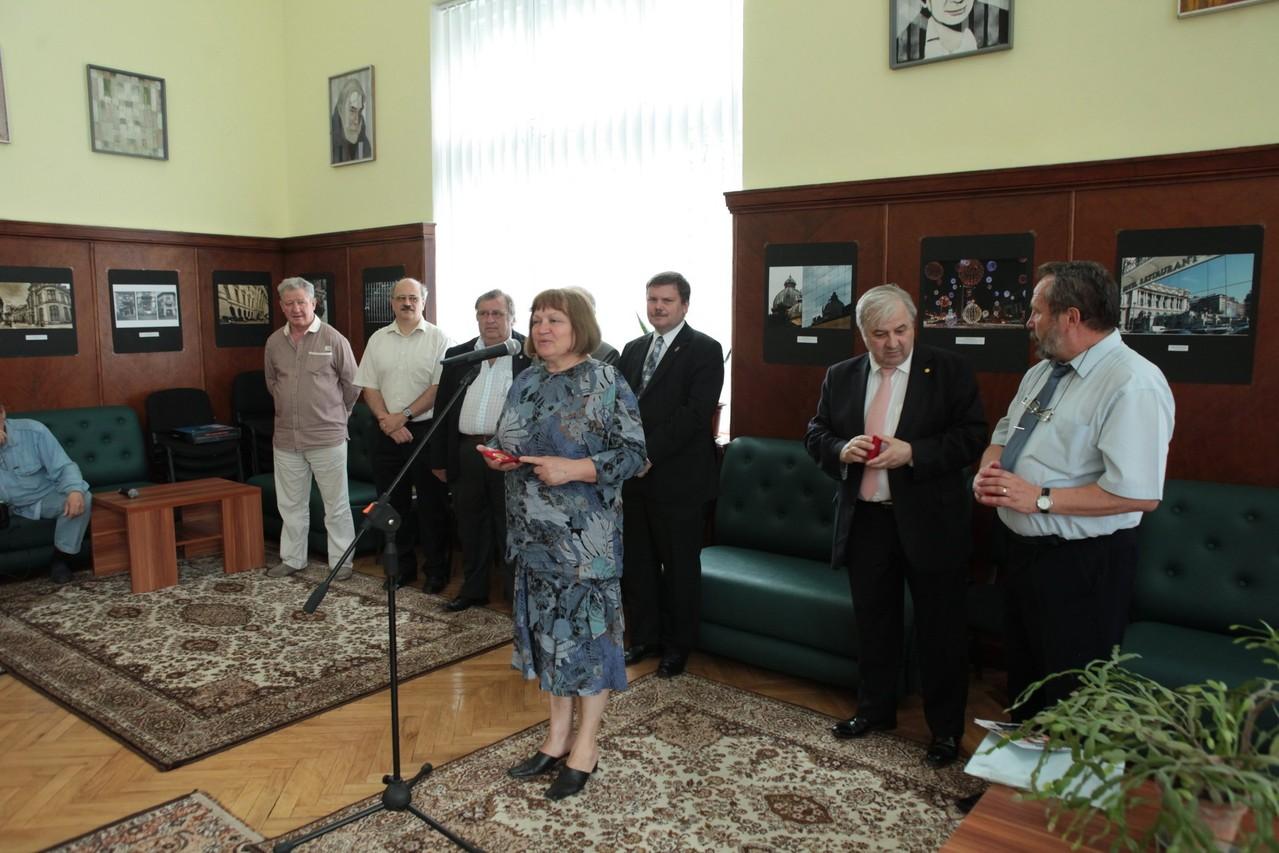Vernisajul Sal. Intern. Capitale ale Uniunii Europene - la Biblioteca Naţională a R.Moldova din Chişinău în cadrul Festivalului Fotografiei Europene - 30 mai 2013