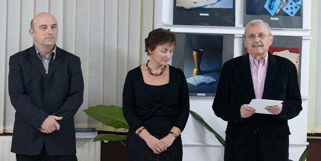 Beütáló végzősök záró kiállításának megnyitója az Euro Foto Art Galériában 2013 december 12-én