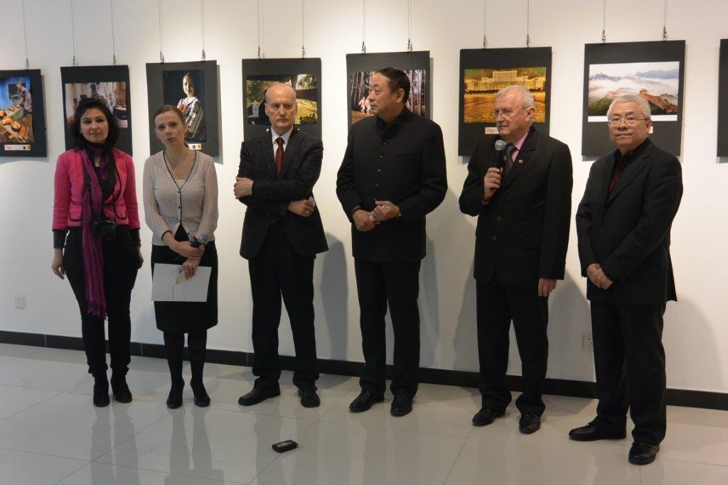 Megnyitó a Peking-i Román Kúlturális Intézetben